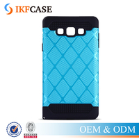 Silicone+Plastic Heavy Duty Rugged Combo Anti Shock Armor Case with Landyard Design For Samsung Galaxy A7