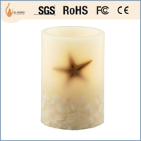 paraffin wax flameless magic candle