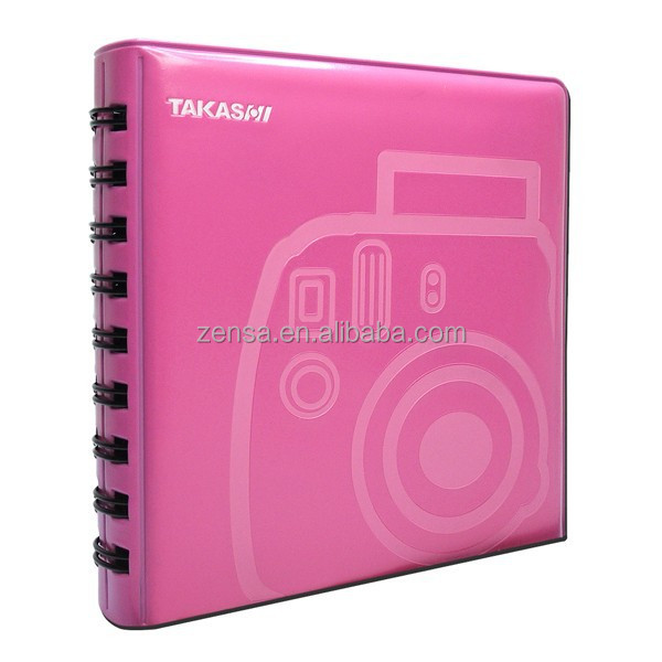 Takashi Soft Jelly Mini Album - Pink for Fujifilm Instax Mini Instant Film / Polaroid 300