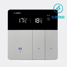 CUBEE Electric Room Thermostat With LCD Screen