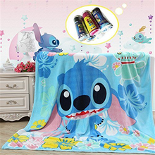 Children's Soft and Thermal Bed Sheet Set Fleece Blanket