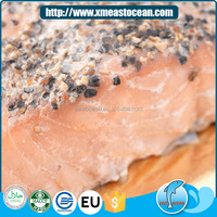 Best quality chile salmon material frozen smoked pink salmon cut