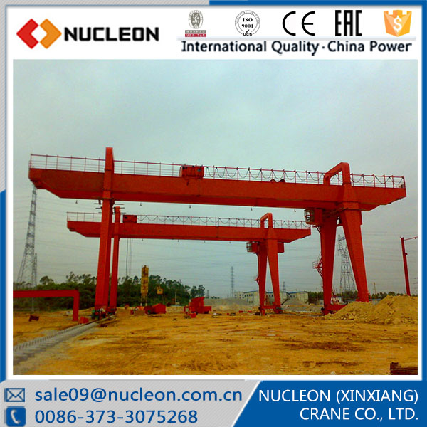 A Type Emergency Stop System Included Gantry Crane 25 ton