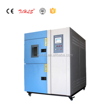 Two Zones Stable Temperature Cycling Environmental Thermal Shock Test Chamber, Environmental impact tester