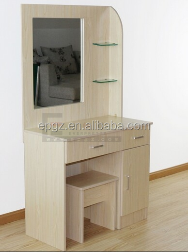 Indian fancy girls mirror dressing table with drawers in bedroom