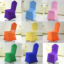 Wholesale china chair covers wedding tiffany decoration white and blue chair covers for weddings with ruffles