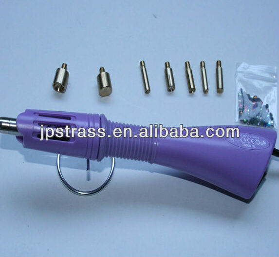 Hotfix tool applicator rhinestone setter with 7 heads for do it yourself