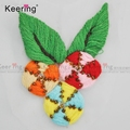 Colorful Sequin adhesive clothing Bead flower patch of embroidered