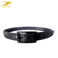 custom colored silicone golf belt, cool men silicone belt