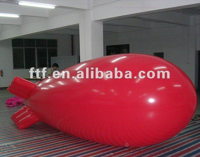 inflatable airship, inflatable balloon/Helium blimp