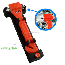 DIHAO 2 in 1 Car Seat Safety Belt Cutter Bus Emergency Safety Hammer with Holder