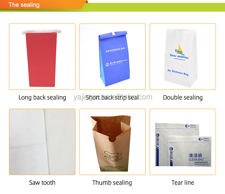 Biodegradable Air sickness bags, Paper bag for pharmacy