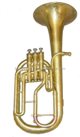 keful tuba yellow brass wind musical instrument