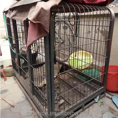 PET dog cages / large dog pen / chain link fence wire mesh dog fence