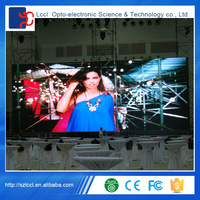 Factory wholesale entertainment places full color indoor large led screen display