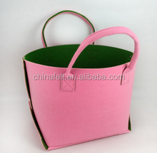 make to order soft wool felt tote bag
