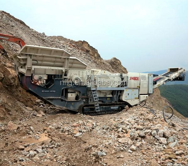 2017 New type best price high quality crawler mobile crushing machine for sale