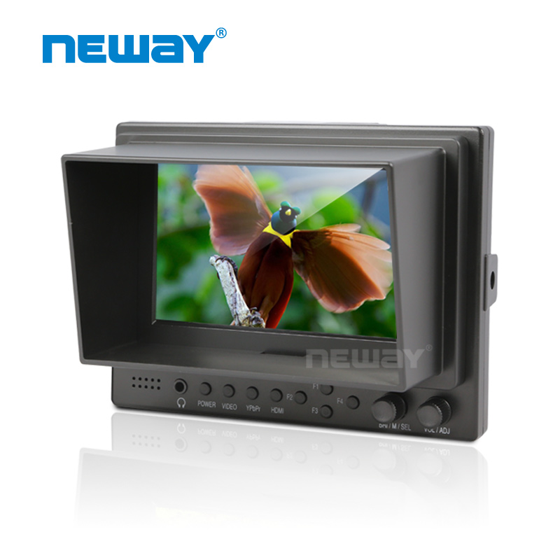 5 Inch Full HD Car Pillow TFT LCD Monitor with DC 12V Adapter