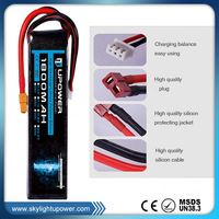 healthy battery pack 3 cell lithium polymer for micro helicopters