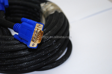 Blue Heads VGA Cables with the ferrites cores