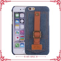 high quality cowboy custom leather cell phone cases