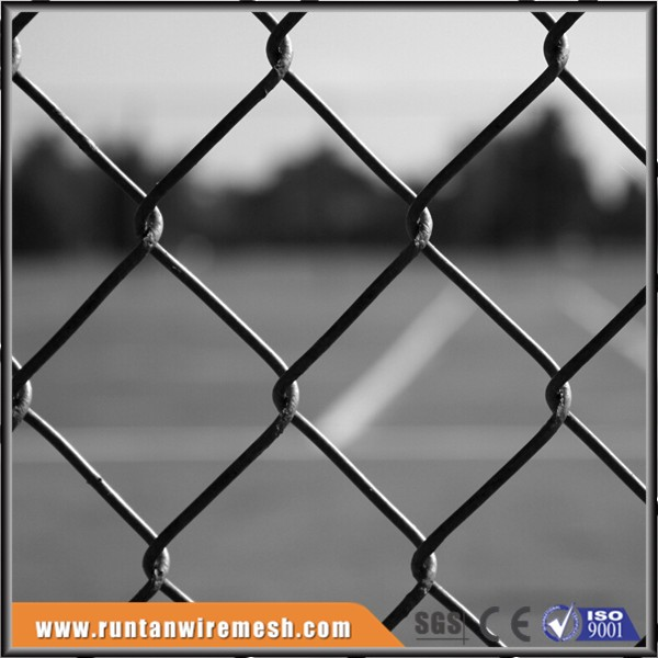 galvanized and pvc korea basketball court sport chain link fence