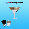condensation cure rtv 2 liquid silicone rubber for moulds casting with different colors