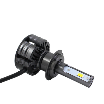 Dual Color LED Headlight Bulb 80W 7600LM /Set 3000K + 6000K In One H1 H4 H7 H8 H9 H11 9005 9006 Car Headlamp Fog Light