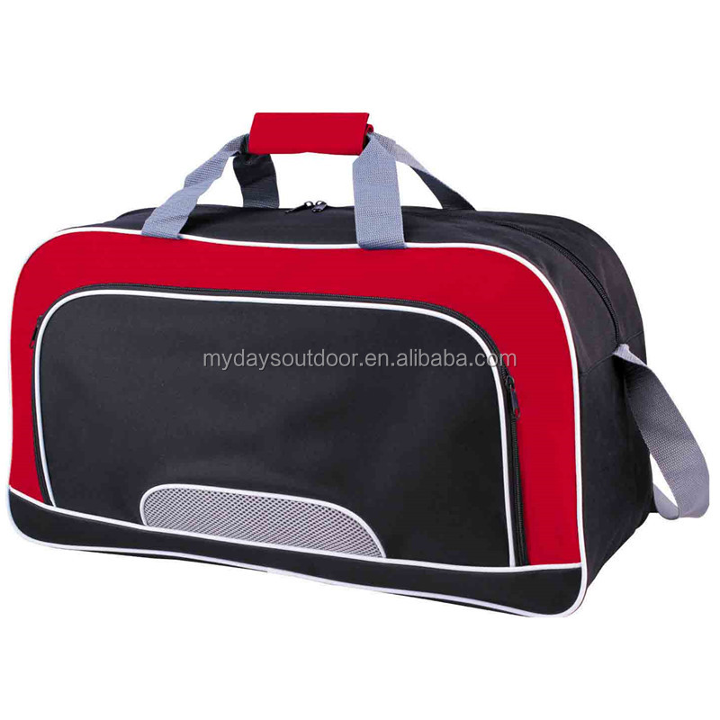 Polyester Sports Duffle Travel Gym Bag women&men sport duffel travel bag