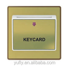 Top Quality European style UK standard 32A Key Card SWITCH