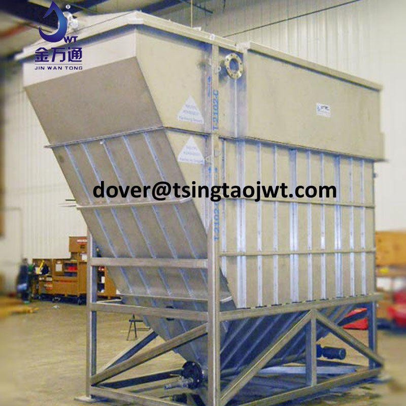 sedimentation tank - water clarifier