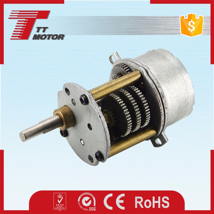 low high high torque 6v 12v dc gear motor with encoder