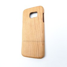 Pure wood case for Samsung S7 mobile phone with factory price