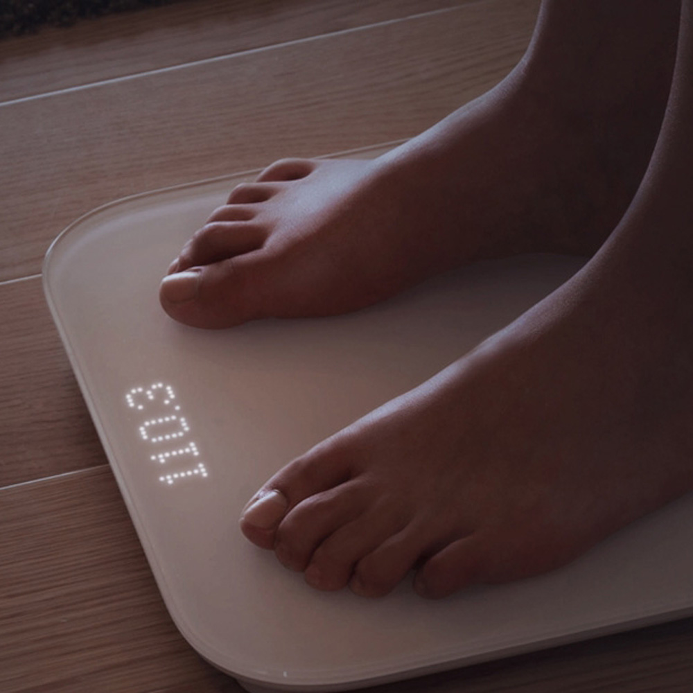 Original Xiaomi Wifi Bluetooth Smart Body Delicate weight scale digital for Android 4.4 Above Smartphone