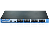 24-Port 10/100/1000Base-T + 8 TP / (100/1G) SFP+Combo + 2 10G Expand slot L2 Plus Managed Switch