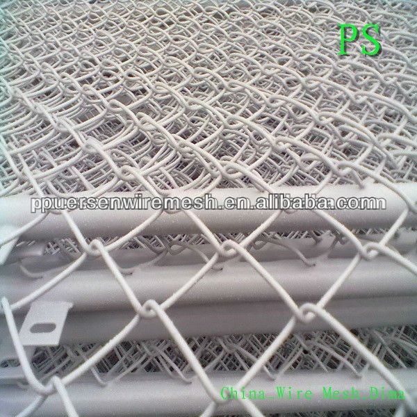 cheap Galvanized Chain link wire mesh fence