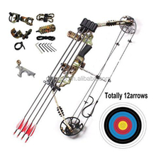 Hot Sale High Quality Archery Compound Bow Set with Arrow and Accessories Best for starters RM120 Set