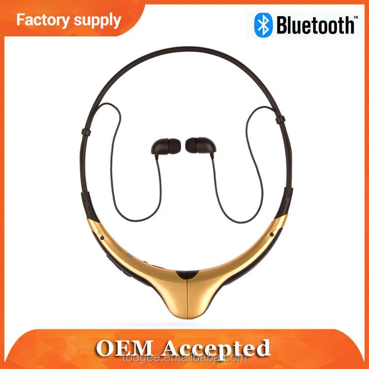 New arrival best quality 4.0 Sport neckband fm radio bluetooth headset
