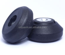 Manufacturer best sale plastic M10 screw round knob