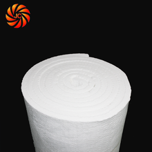 Fire Resistant Insulation Ceramic Fiber Refreactory Wool Blanket