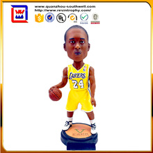 head shaking doll shaking head toy bobble head for basketball