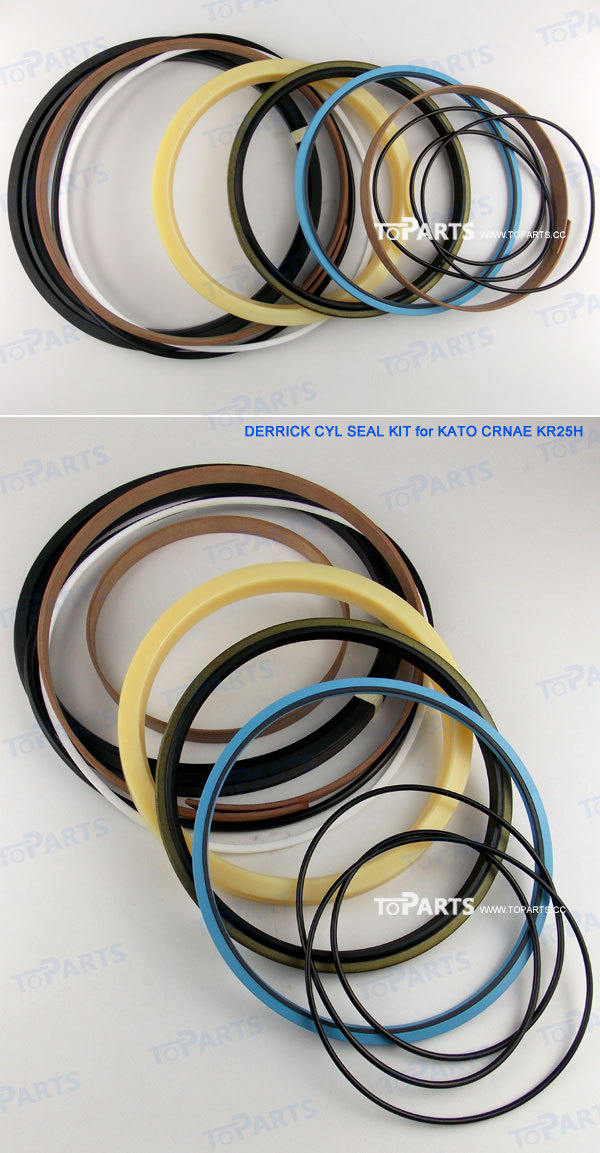 KATO KR25H-2-L Hydraulic Cylinder Seal Kit for KATO CRNAE KR25H-2-L CYL Seal Kit