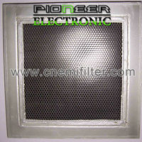 450x450mm, steel EMI Honeycomb filter for shielding room with EMI shielding chamber shield material in honeycombs