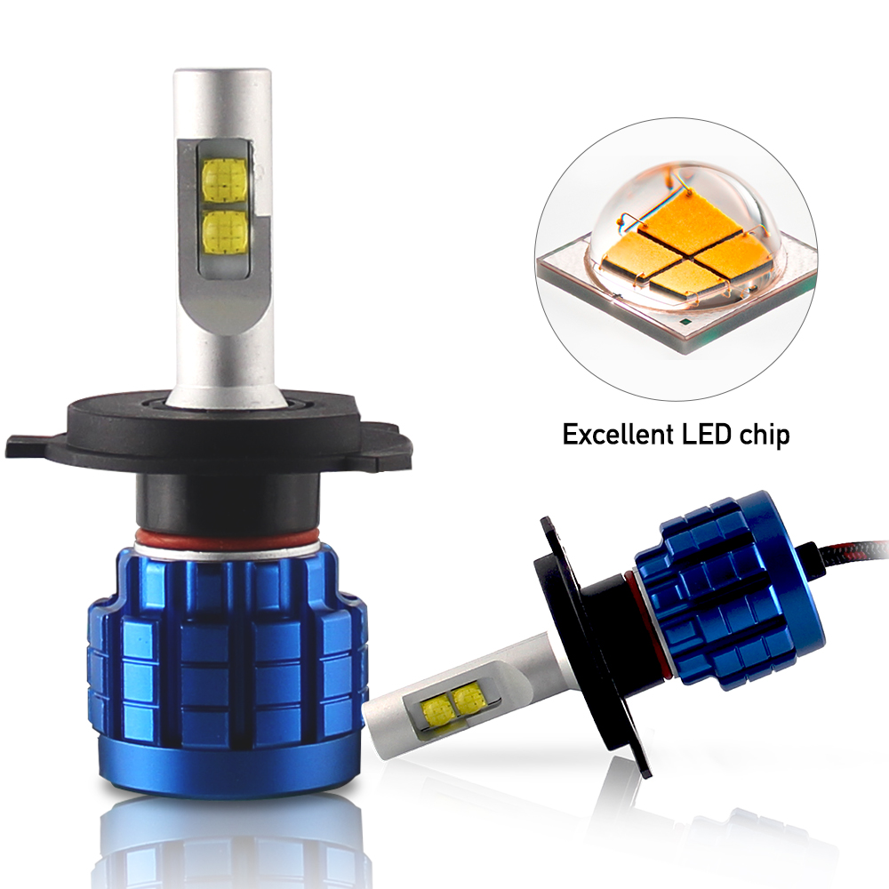 plug and play led auto light h1 h7 h4, 100w <strong>Q10</strong> led headlamp h4 led h4 headlights car