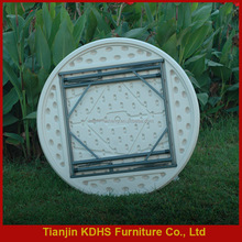 High quality and modern round plastic table folding table for sale