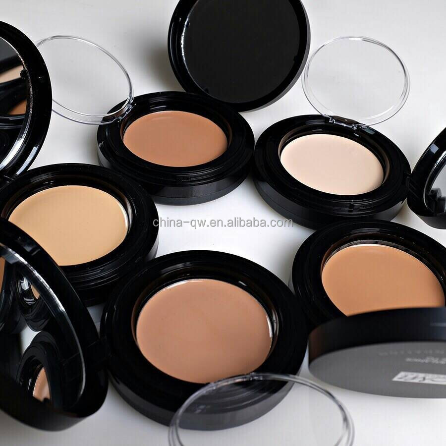 Menow F13008 cosmetic 2 in 1 face powder foundation & concealer with mirror