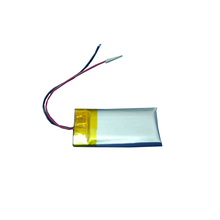 3.7V 252030PL 110mAh Rechargeable polymer lithium battery for headset