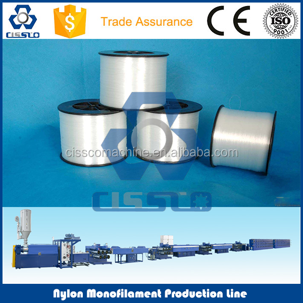 Good Quality Nylon Monofilament Thread Extruder