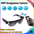 Factory HD1080P Fashionable Style Wifi Sunglasses camera,Outdoor Wifi Sports Sunglasses DV,Eyewear sunglasses video recorder