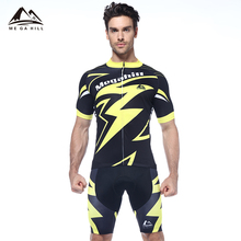 Mens sexy bike bicycle cycling shirts t-shirt one piece suit clothes wear clothing